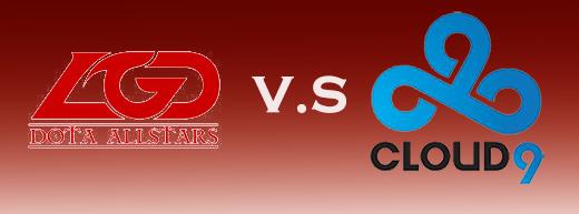 TI5小组赛:LGD vs C9 第一场7月28日