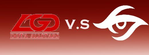 TI5小组赛最强对决:Secret vs LGD第一场7月30日