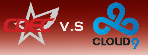 TI5淘汰赛胜者组:CDEC VS cloud9第二场