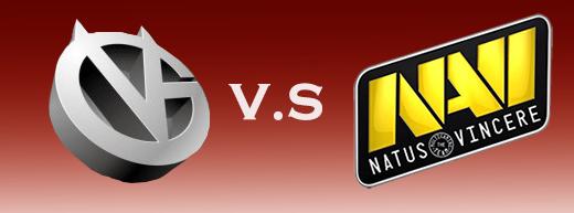 TI5淘汰赛败者组:VG vs Navi