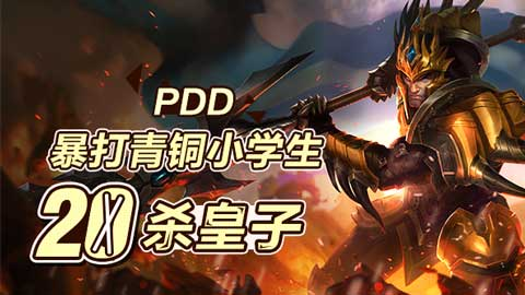 PDD暴打青铜系列:无敌皇子20杀