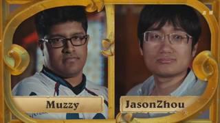 B组小组赛第一轮Muzzy vs OMJasonZhou