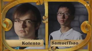 B组小组赛第一轮Kolento vs SamuelTsao