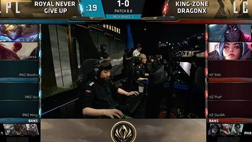 MSI 总决赛5月20日 RNG VS KZ第二场
