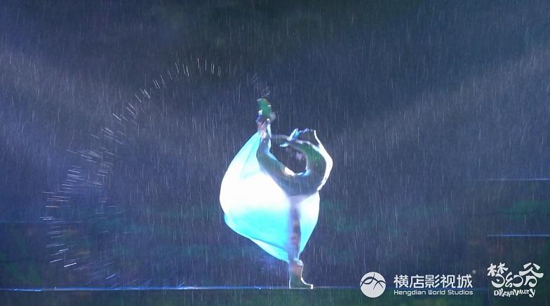横店梦幻谷大秀暴雨山洪