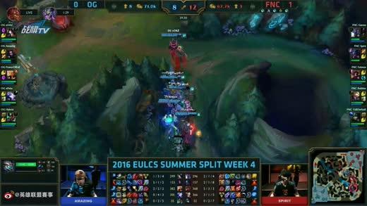 LCSeu夏季赛FNC VS OG视频2016-06-26-16-35